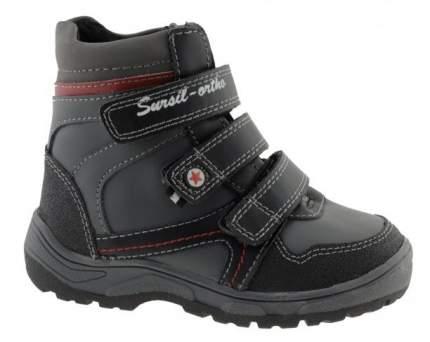Ортопедические ботинки Sursil-Ortho А43-037 мужские серый