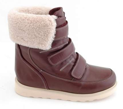 Ортопедические ботинки Sursil-Ortho А43-039-1_M женские бордовый