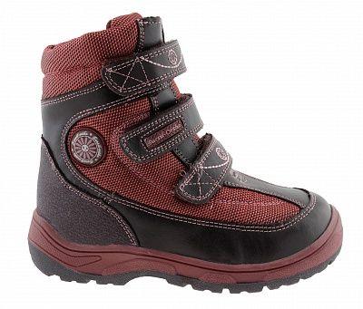 Ортопедические ботинки Sursil-Ortho А43-045 для девочек черный