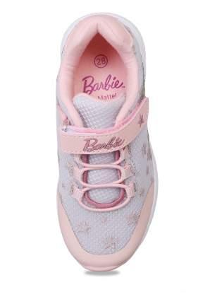 Кроссовки детские Barbie, цв.серебристый р.30