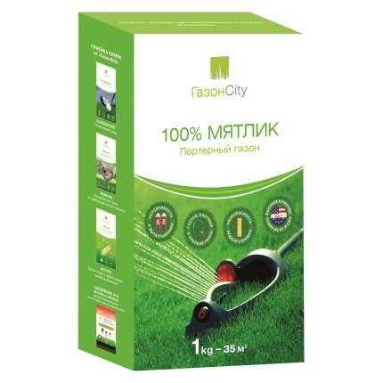 Семена газона ГазонCity Мятлик 100% 1 кг