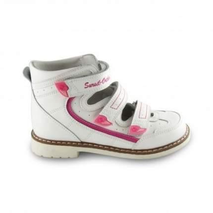 Сандалии ортопедические Sursil-Ortho 14-129 для девочек белый, розовый р.30