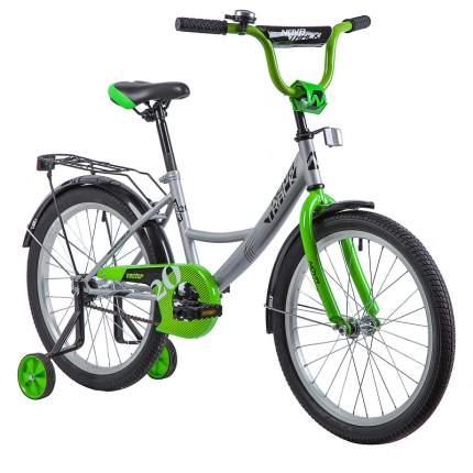 "Велосипед Novatrack Vector серебристый 20"""