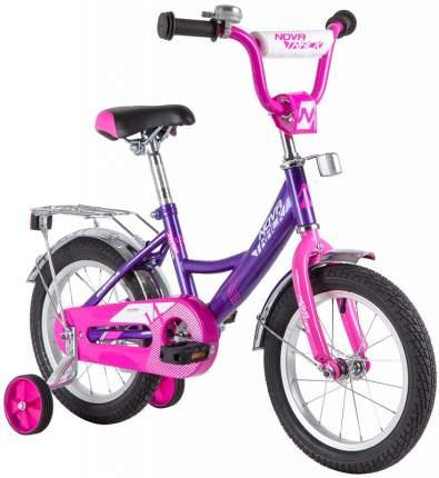 """Велосипед Novatrack Vector 14"""" лиловый"""