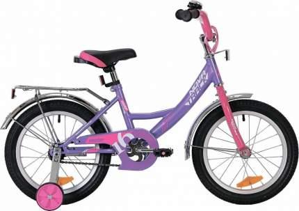 """Велосипед Novatrack Vector лиловый 16"""""""