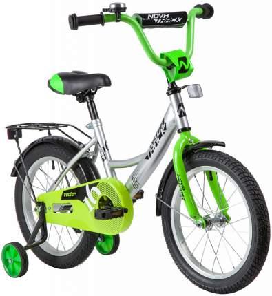 "Велосипед Novatrack Vector серебристый 16"""