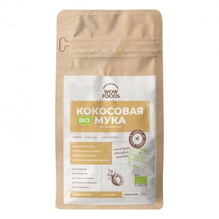 Кокосовая мука Wowfoods органик био 350 г