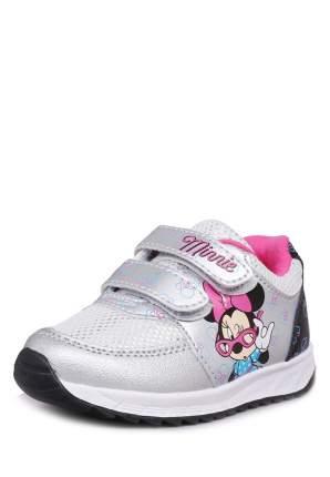 Кроссовки детские Minnie Mouse, цв.серый р.21
