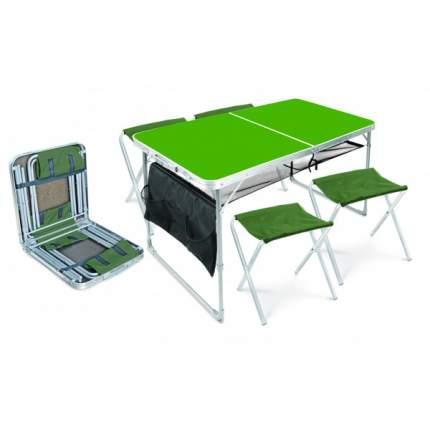 Туристический стол со стульями Nika ССТ-К3 хаки