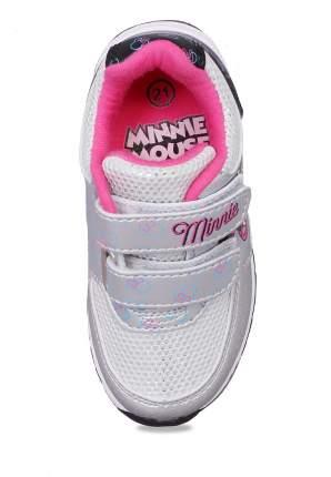 Полуботинки для девочек Minnie Mouse, цв. светло-серый, р-р 24