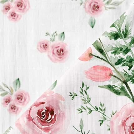 Муслиновые пеленки 2 шт. Adam Stork Watercolor Flowers