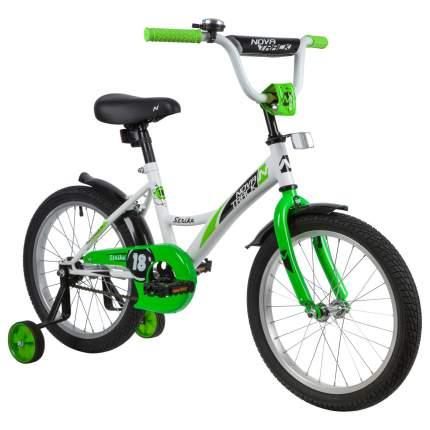 "Велосипед Novatrack Strike белый-зеленый 18"""
