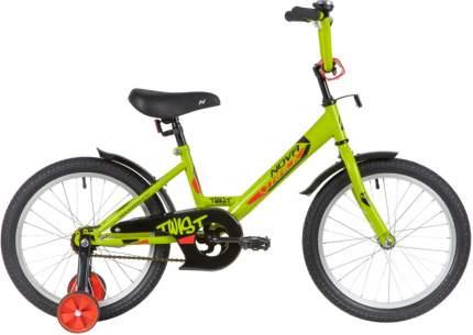 """Велосипед Novatrack Twist 18"""" зеленый"""