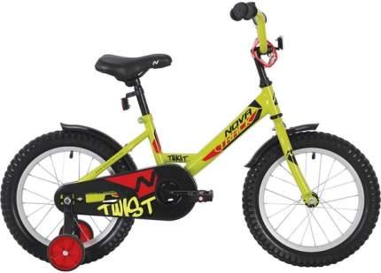 """Велосипед Novatrack Twist 20"""" зеленый"""