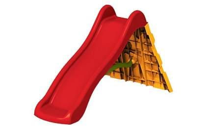 Горка-скалодром Starplast красный/желтый, 240х162х106,5 см