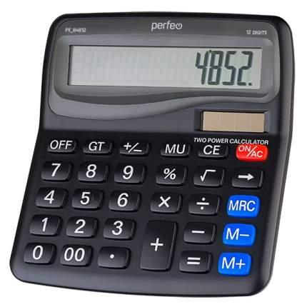 Калькулятор Perfeo PF_B4852, бухгалтерский, 12-разр., черный