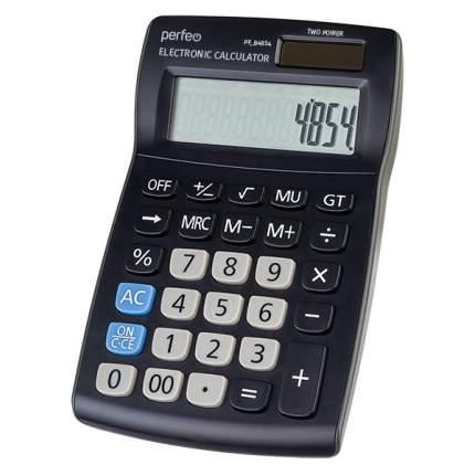 Калькулятор Perfeo PF_B4854, бухгалтерский, 12-разр., черный
