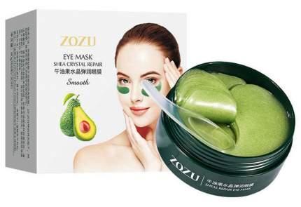 Гидрогелевые патчи Zozu с экстрактом авокадо и маслом ши, 60 шт.
