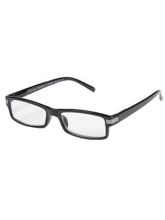 Готовые очки для чтения EYELEVEL Attorney Black Readers +1.5