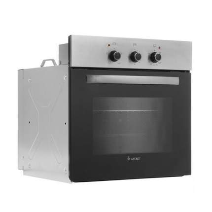 Встраиваемый газовый духовой шкаф GEFEST ДГЭ 601-01 Н1 Black