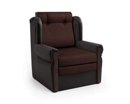 Кресло-раскладушка Классика М шоколад и рогожка