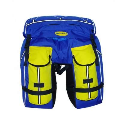 Велорюкзак-штаны на багажник TERRA Пегас 80л, синий