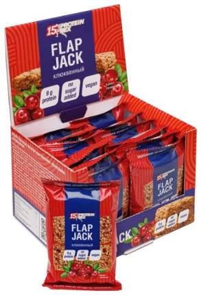 Печенье протеиновое овсяное PROTEIN REX Flapjack (коробка, 12штук по 60 гр) (Клюква)