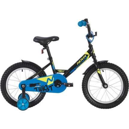 """Велосипед Novatrack TWIST черный 18"""""""