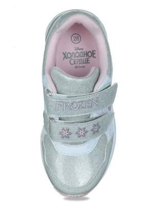 Кроссовки детские Frozen, цв.серебристый р.26