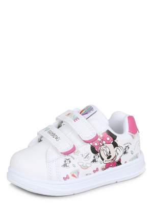 Кеды детские Minnie Mouse, цв. белый р.23