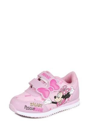 Кроссовки детские Minnie Mouse, цв.розовый р.24