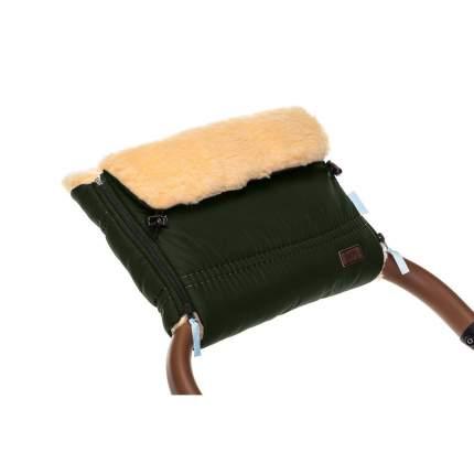 Муфта меховая для коляски Nuovita Alpino Pesco хаки
