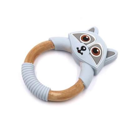 Прорезыватель для зубов Baby Fox Енот цвет серый BF-TEETOY-37