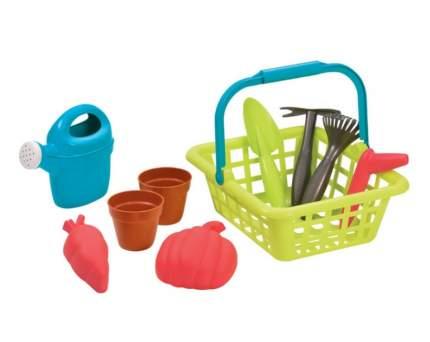 Игровой набор Корзина садовника, с горшками для цветов