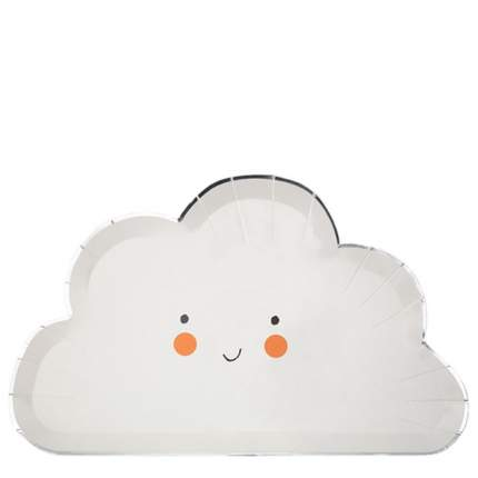 Набор тарелок Meri Meri Счастливое облако 12 шт