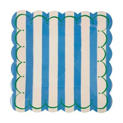 Набор тарелок Meri Meri Тут Свит голубые большие 12 шт
