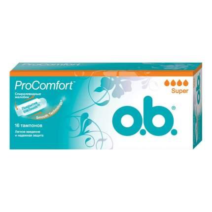 Тампоны o.b. ProComfort супер 16шт