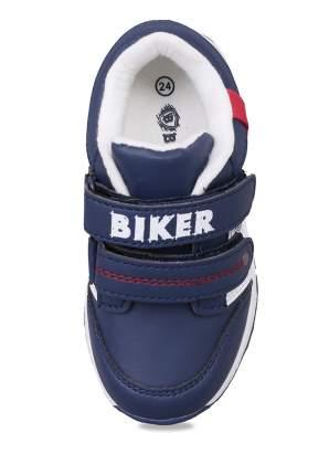 Кроссовки детские Biker, цв.синий р.20