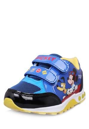 Полуботинки для мальчиков Mickey Mouse, цв. синий, р-р 20