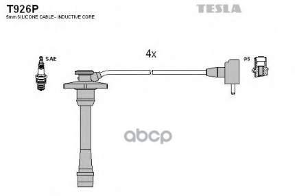 Комплект Проводов Зажигания TESLA T926P