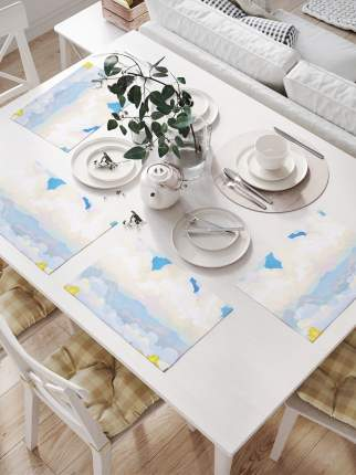 Комплект салфеток для сервировки стола «Чудная погодка» (32х46 см, 4 шт.)