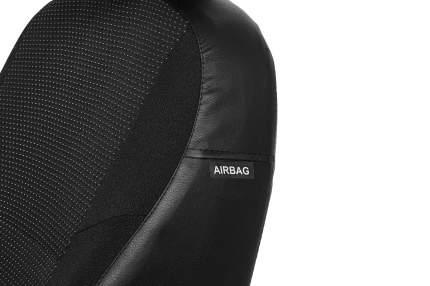 Комбинированные чехлы Carloon для Nissan Almera/Ниссан Альмера Classic 2006-2013 LUX 51101