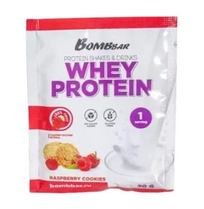 Протеин Bombbar Whey Protein, 30 г, raspberry cookies