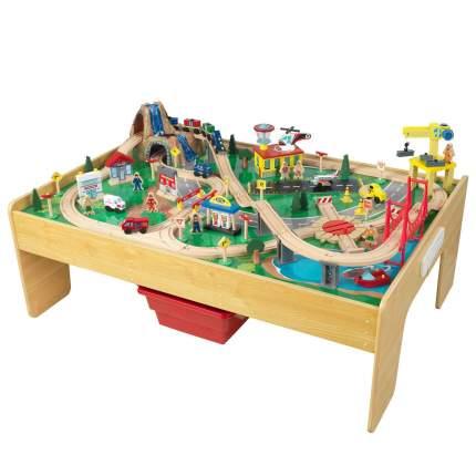Деревянная железная дорога KidKraft Город приключений