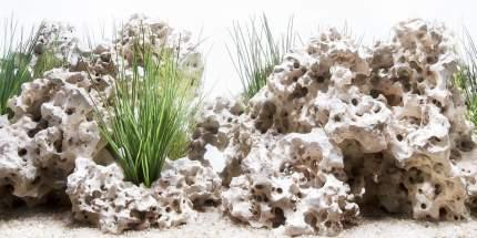 Аквариумный фон Barbus 030 двухсторонний Облачный камень/Чудесный пейзаж 60 см/124 см