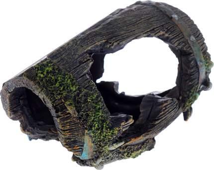 Грот для аквариума Barbus Decor 054 Бочка, пластик, 12х8,5х9 см
