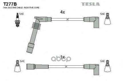 Комплект Проводов Зажигания TESLA T277B