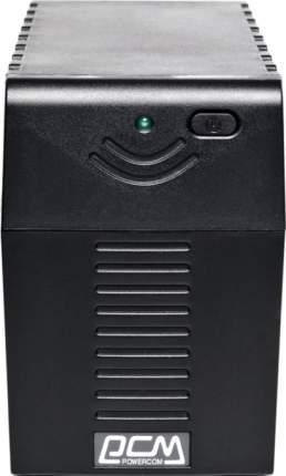Источник бесперебойного питания Powercom Raptor RPT-600AP Black