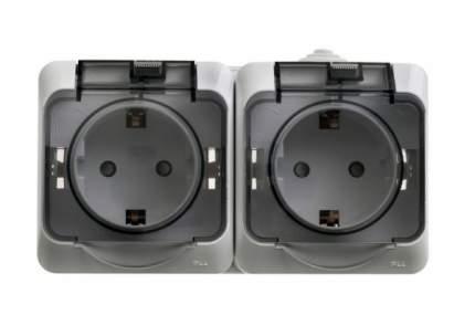 Сетевая розетка Schneider Electric Этюд PA16-244C IP44