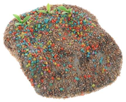Плот для черепах Barbus Accessory 007, с присоской плавающий, пластик, 15х30х2 см